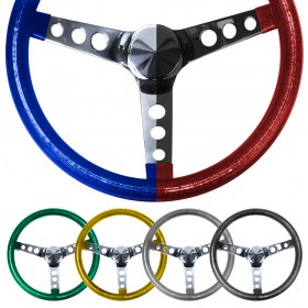 METAL FLAKE STEERING WHEELS